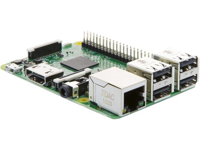 Raspberry Pi 3 Model B 1GB Project Board, 83-17300 - Newegg com