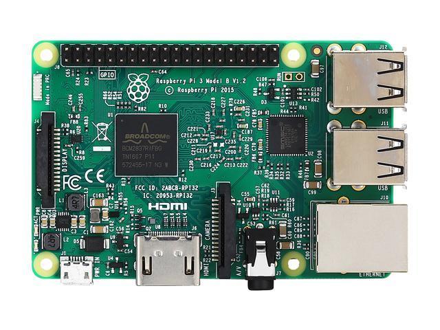 Raspberry Pi 3 Model B Weather Monitor Kit - Newegg com