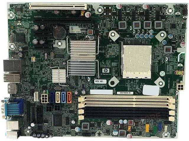 Microtower Socket AM3 Motherboard 503335-001 531966-001 HP Compaq 6005 Pro SFF