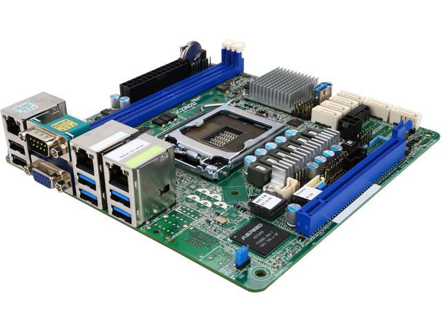 ASRock E3C236D2I Mini ITX Server Motherboard - Newegg com