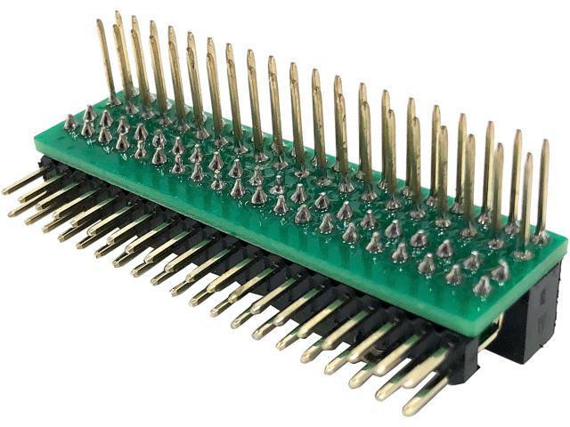 Micro Connectors RAS-GP02 Raspberry Pi 40-pin GPIO 1 to 2 Expansion Board -  Newegg com
