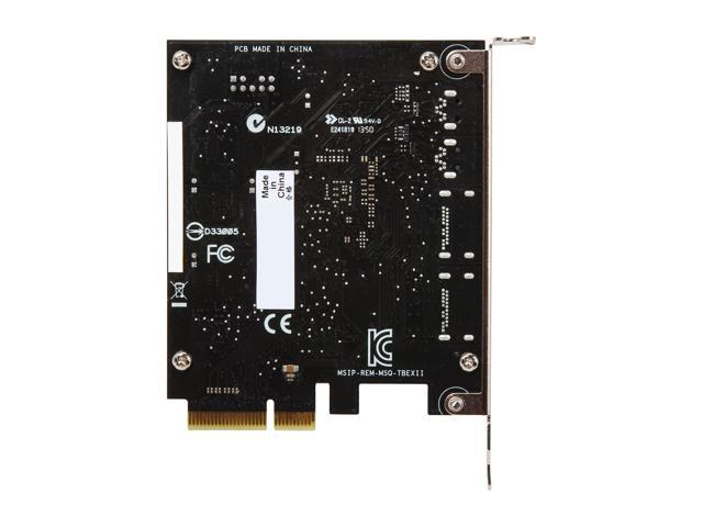 ASUS ThunderboltEX II Expansion Card - Newegg com