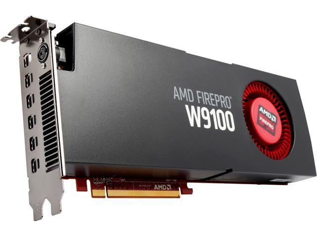 AMD FirePro W9100 100-505989 32GB 512-bit GDDR5 PCI Express 3 0 x16  Workstation Video Card - Newegg com