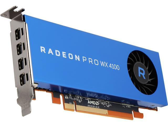 Radeon Pro WX 4100 100-506008 4GB 128-bit GDDR5 Low Profile Workstation  Video Card - Newegg com