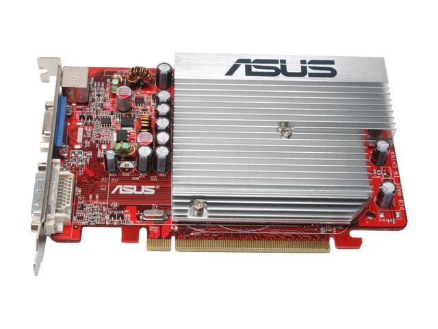 tested /& warranty Asus EAH2400PRO Radeon 2400 pro vga//dvi graphics card