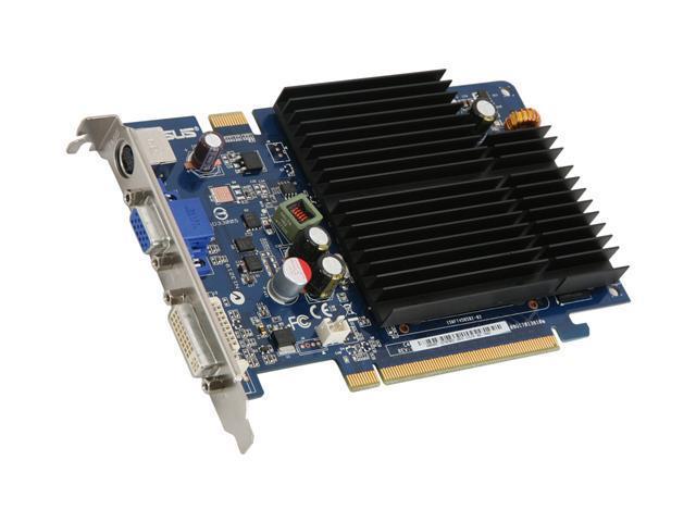 512MB Video Graphics VGA Card PCIe x16 DirectX 10 9 SILENT