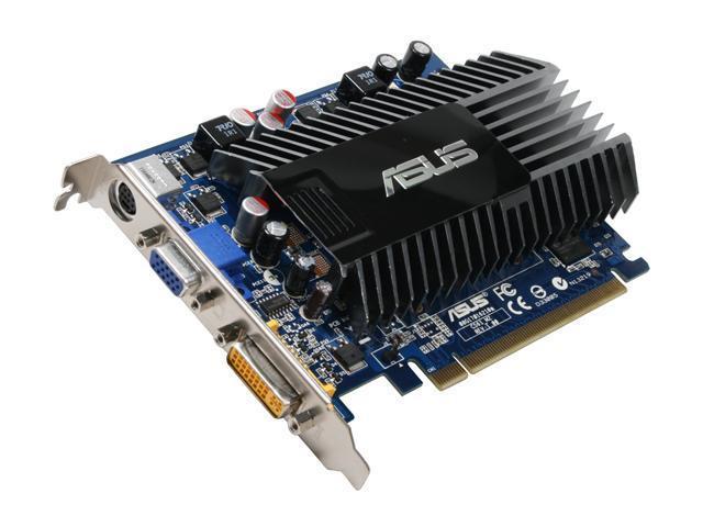 ASUS GeForce 8400 GS DirectX 10 EN8400GS SILENT/HTP/512M 512MB 64