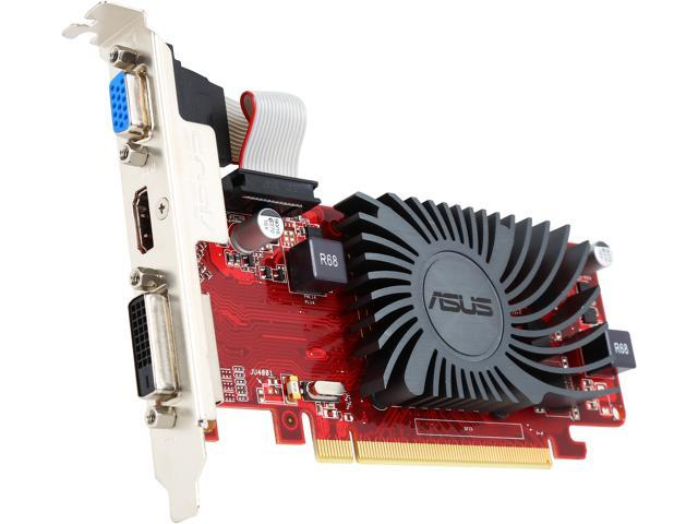 Used - Like New: ASUS Radeon HD 6450 DirectX 11 EAH6450 Silent/DI/1GD3(LP)  Video Card - Newegg com
