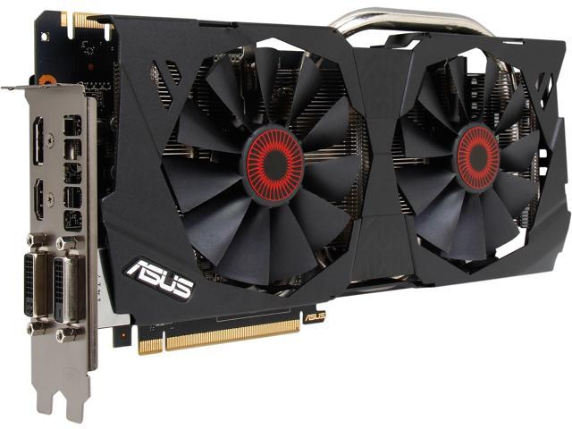 Used - Like New: ASUS GeForce GTX 970 STRIX-GTX970-DC2OC-4GD5 G-SYNC  Support Video Card - Newegg com