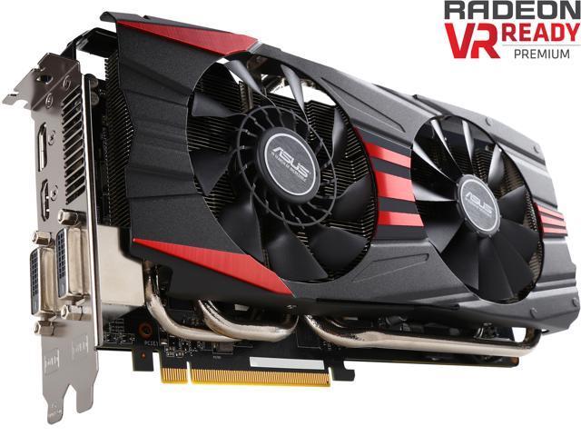 ASUS Radeon R9 390X DirectX 12 R9390X-DC2-8GD5 Video Card - Newegg com