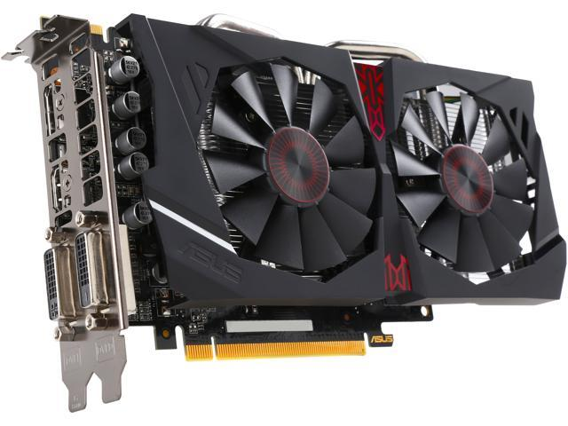 ASUS Radeon R7 370 STRIX-R7370-DC2OC-4GD5-GAMING Video Card - Newegg com