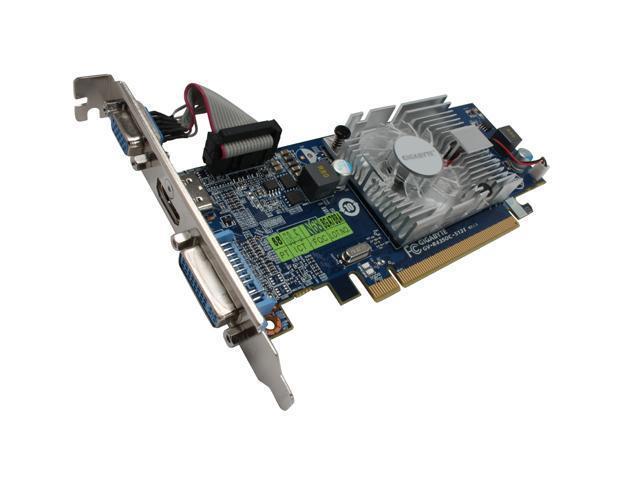 GIGABYTE Radeon HD 4350 DirectX 10 1 GV-R435OC-512I 512MB 64-Bit GDDR2 PCI  Express 2 0 x16 HDCP Ready Low Profile Ready Video Card - Newegg com