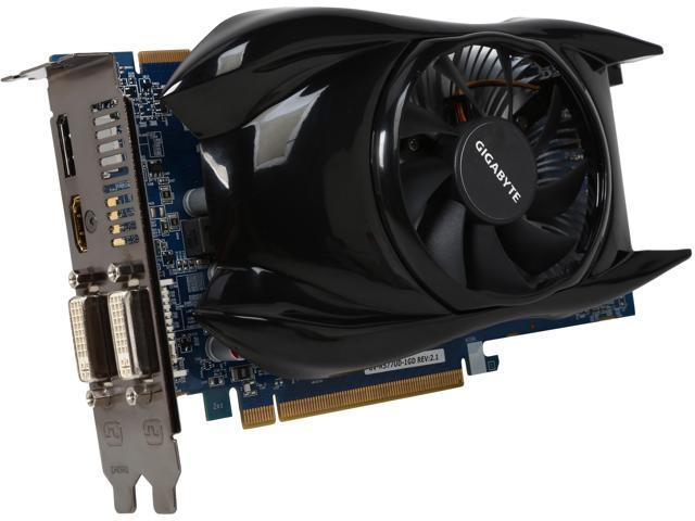 Refurbished: GIGABYTE Radeon HD 5770 DirectX 11 GV-R577UD-1GD Video Card -  Newegg com