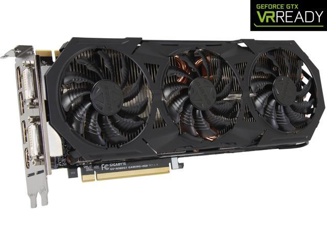 GIGABYTE GeForce GTX 980 4GB G1 GAMING OC EDITION, GV-N980G1 GAMING-4GD -  Newegg com