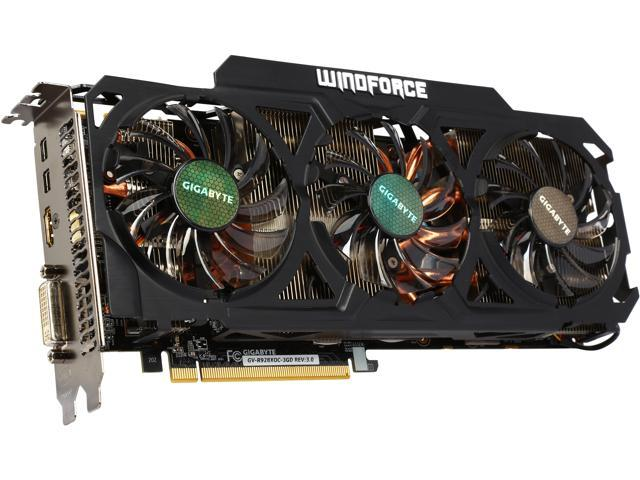 GIGABYTE Radeon R9 280X DirectX 11 2 GV-R928XOC-3GD REV3 Ultra Durable  Video Card - Newegg com