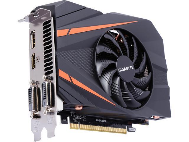 910e657cf GIGABYTE GeForce GTX 1060 Mini ITX OC 3GB GV-N1060IXOC-3GD Video Card