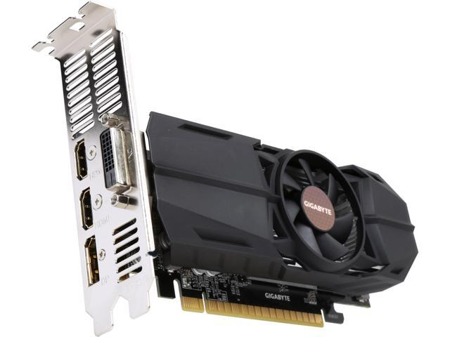 NEW Gigabyte GeForce GTX 1050 OC 2GB GV-N1050OC-2GL PCI-E Video Card Low Profile