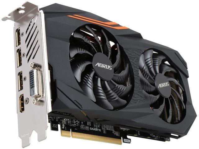 GIGABYTE AORUS Radeon RX 580 DirectX 12 GV-RX580AORUS-8GD Video Card -  Newegg com