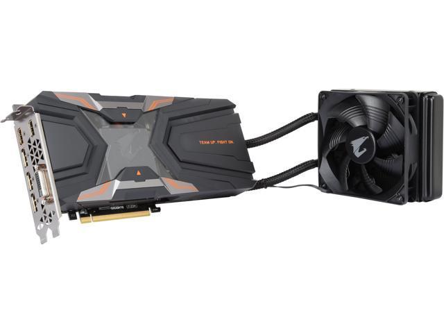 GIGABYTE AORUS Xtreme GeForce GTX 1080 Ti Waterforce 11GD,  GV-N108TAORUSXW-11GD - Newegg com