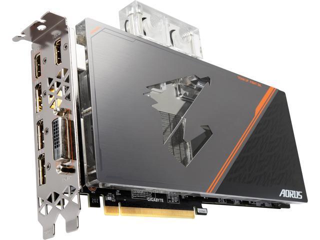 Used - Like New: GIGABYTE AORUS Xtreme GeForce GTX 1080 Ti Waterforce WB  11GD, GV-N108TAORUSX WB-11GD - Newegg com