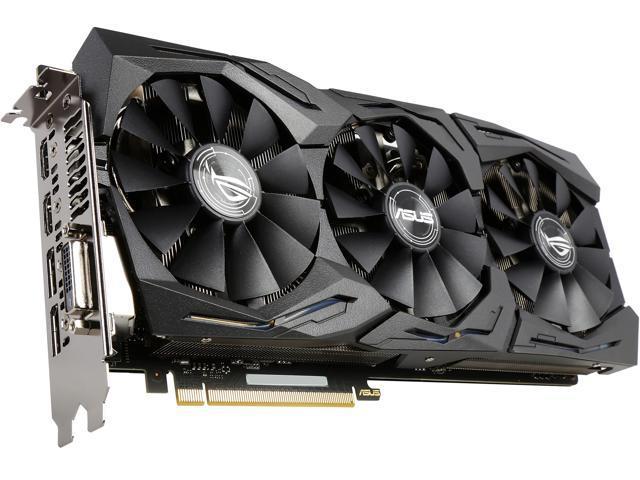 ASUS ROG GeForce GTX 1070 STRIX-GTX1070-O8G-GAMING Video Card with RGB  Lighting - Newegg.com