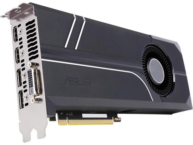 ASUS GeForce GTX 1080 TURBO-GTX1080-8G Video Card - Newegg com