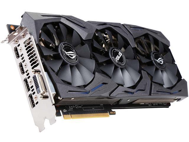 ASUS ROG Radeon RX 480 STRIX-RX480-O8G-GAMING Video Card - Newegg com