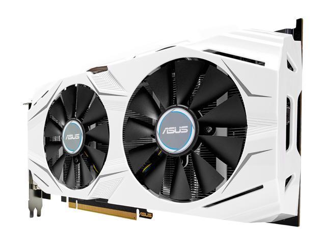 ASUS GeForce GTX 1060 DUAL-GTX1060-O6G Video Card - Newegg com