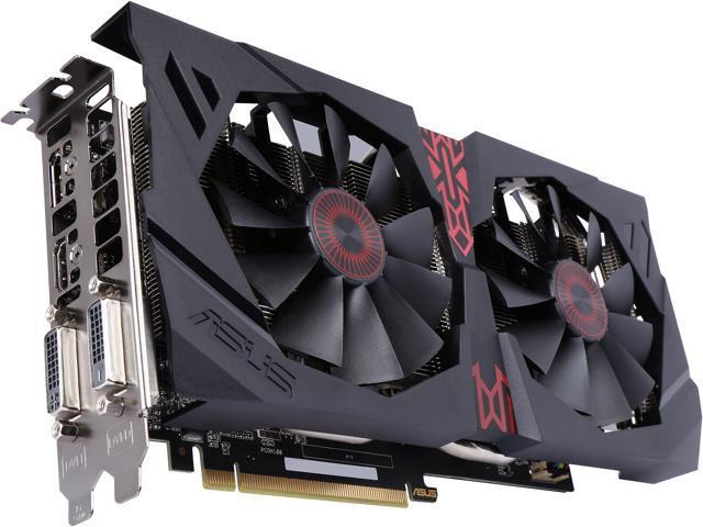 ASUS Radeon R9 380 STRIX-R9380-DC2-2GD5-GAMING Video Card - Newegg com
