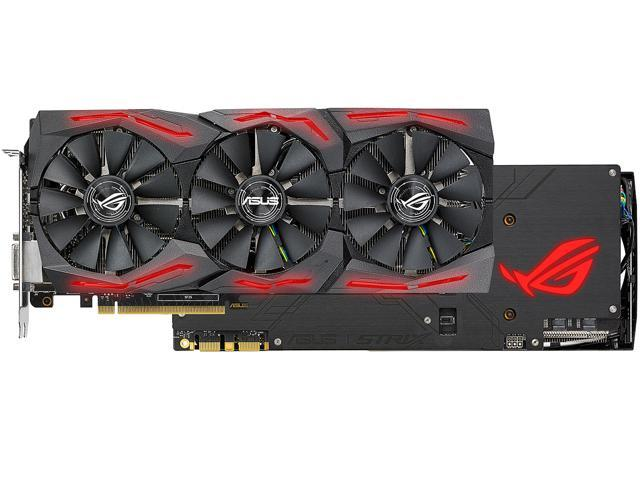 ASUS ROG GeForce GTX 1080 Ti DirectX 12 STRIX-GTX1080TI-O11G-GAMING Video  Card - Newegg com