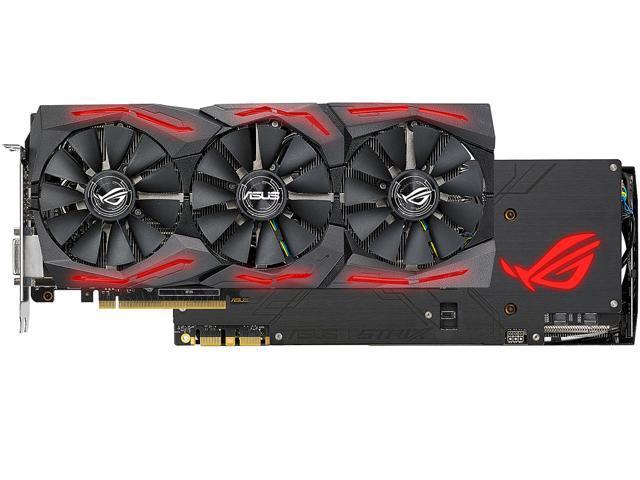 ASUS ROG GeForce GTX 1080 Ti DirectX 12 STRIX-GTX1080TI-11G-GAMING Video  Card - Newegg com