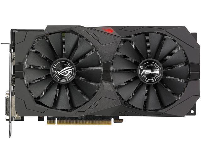 Used - Like New: ASUS ROG Strix Radeon RX 570 O4G Gaming OC Edition GDDR5  DP HDMI DVI VR Ready AMD Graphics Card (ROG-STRIX-RX570-O4G-GAMING) -