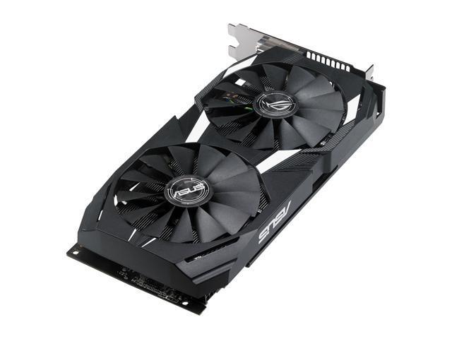 ASUS Radeon RX 580 O4G Dual-fan OC Edition GDDR5 DP HDMI DVI VR Ready AMD  Graphics Card (DUAL-RX580-O4G) - Newegg com