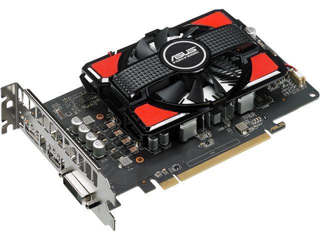 ASUS Radeon RX 550 4G GDDR5 DP HDMI DVI AMD Graphics Card (RX550-4G) -  Newegg com