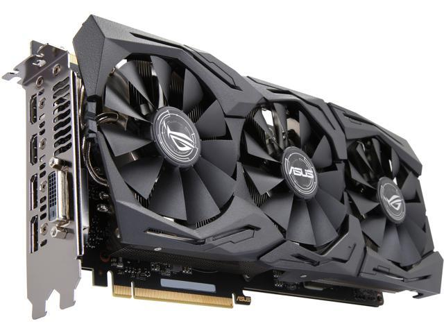 Asus Rog Geforce Gtx 1070 Ti Rog Strix Gtx1070ti A8g Gaming 8gb 256 Bit Gddr5 Pci Express 3 0 Hdcp Ready Sli Support Video Card