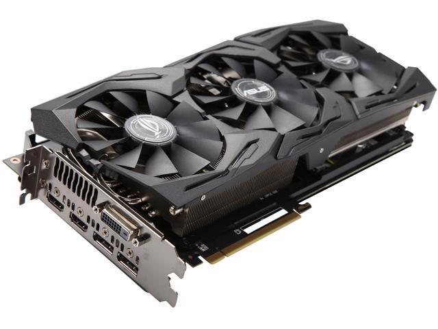 ASUS ROG Radeon RX Vega 56 STRIX-RXVEGA56-O8G-GAMING 8GB 2048-Bit HBM2 PCI  Express 3 0 HDCP Ready CrossFireX Support Video Card - Newegg com