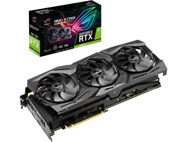 ASUS ROG Strix GeForce RTX 2080 Ti DirectX 12  ROG-STRIX-RTX2080TI-O11G-GAMING Video Card - Newegg com