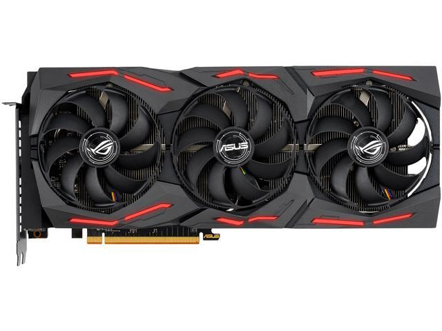 ASUS ROG STRIX AMD Radeon RX 5600 XT OC Edition Gaming Graphics ...