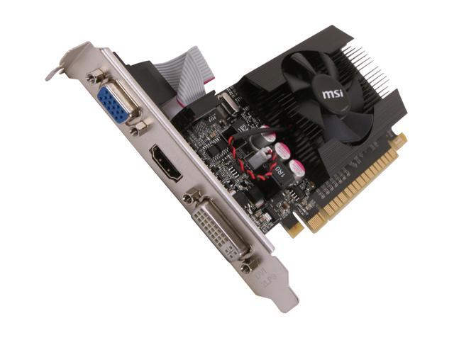 How to overclock nvidia gt610 to get max performance (msi.