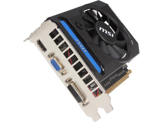 MSI GeForce GTX 650 Ti DirectX 11 N650TI-1GD5/V1 Video Card - Newegg com