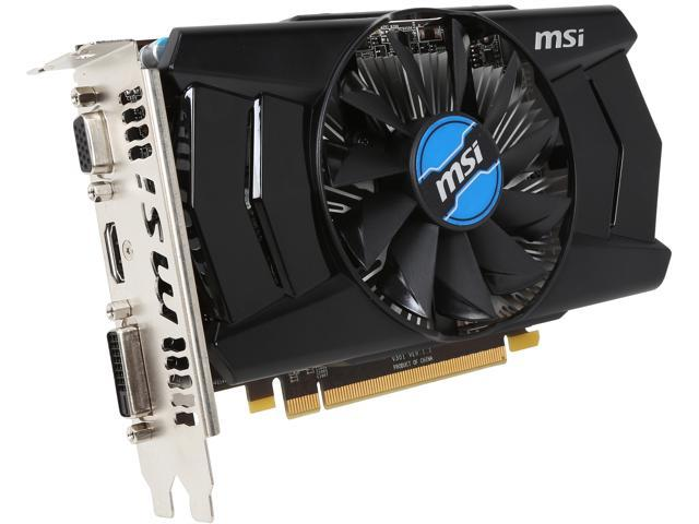 Used - Like New: MSI Radeon R7 250 DirectX 12 R7 250 2GD3 OC Video Card -  Newegg com