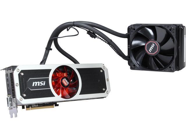 MSI Radeon R9 295x2 DirectX 11 2 R9 295X2 8GD5 Video Card - Newegg com