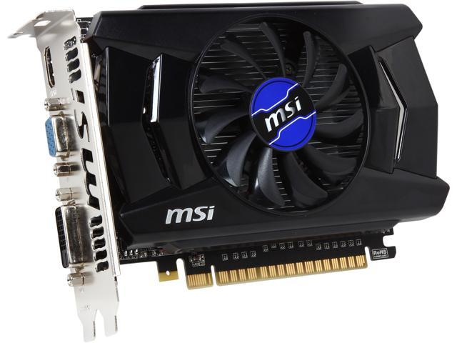 MSI  N750-2GD5/OC G-SYNC Support GeForce GTX 750  2GB  128-Bit  GDDR5  PCI Express 3.0 x16  HDCP Ready Video Card