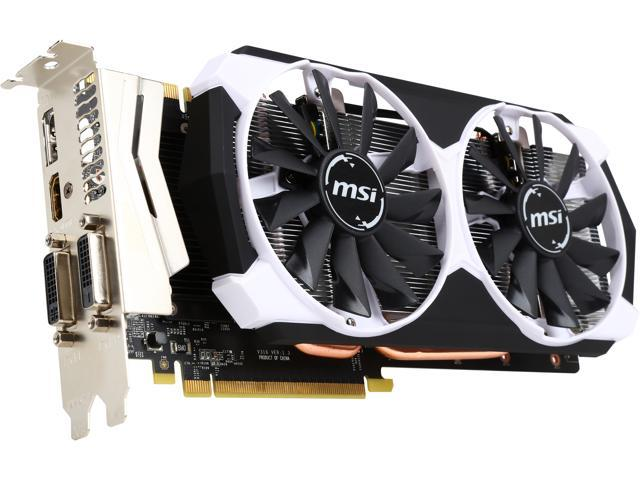 MSI GeForce GTX 970 4GD5T OC - Newegg com