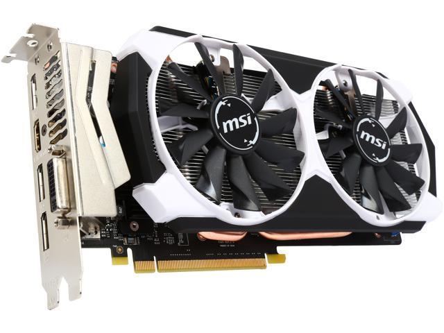 MSI GeForce GTX 960 DirectX 12 GTX 960 2GD5T OC Video Card - Newegg com
