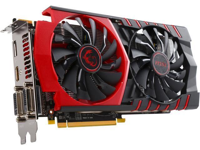 MSI Radeon R7 370 DirectX 12 R7 370 GAMING 2G Video Card - Newegg com