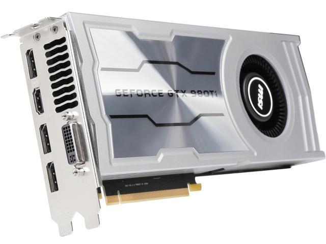 MSI GeForce GTX 980TI 6GD5 V1 - Newegg com