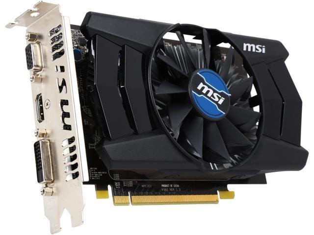 Refurbished: MSI Radeon R7 250 DirectX 11 R7 250 1GD5 OC-R Video Card -  Newegg com