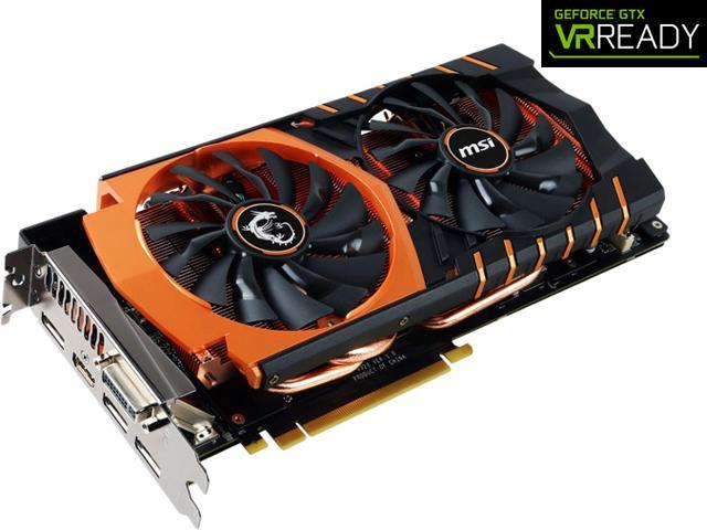 MSI GeForce GTX 980TI GAMING 6G GOLDEN EDITION - Newegg com