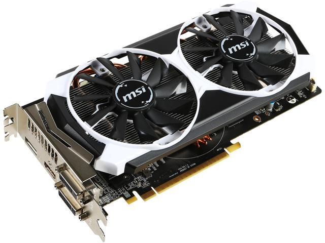 MSI Radeon R9 380 DirectX 12 R9 380 4GD5T OC Video Card - Newegg com